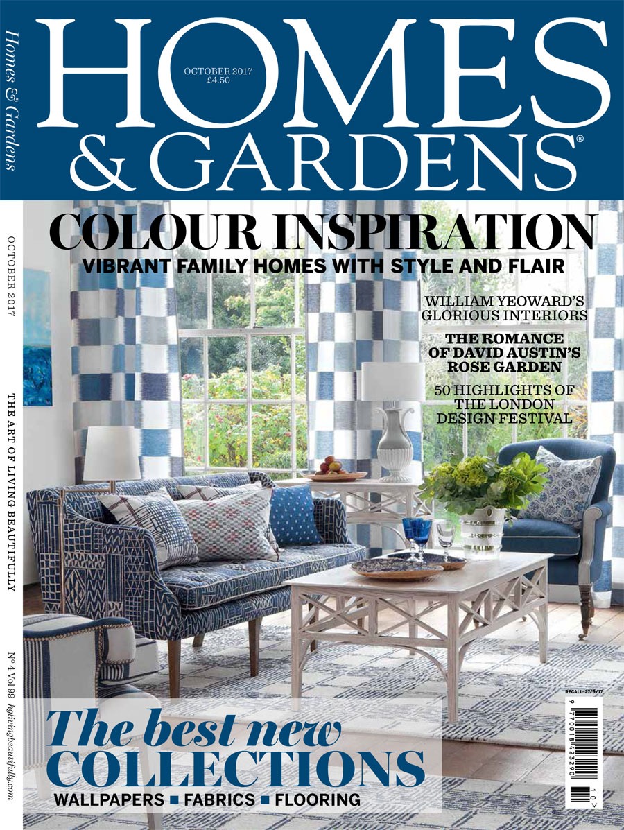 Homes & Gardens Magazine Front Cover