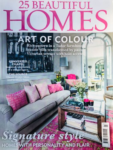 25 Beautiful Homes Magazine Front Cover