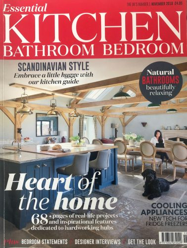 Kitchen Bathroom and Bedroom Magazine front cover