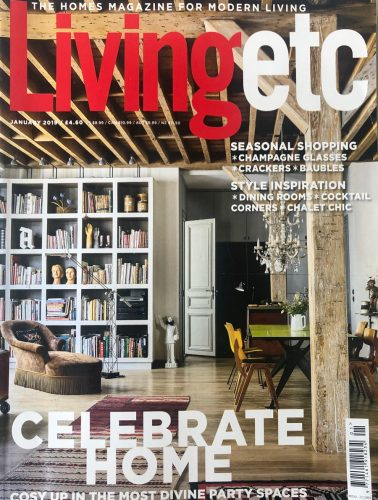 Living Etc Magazine Front Cover